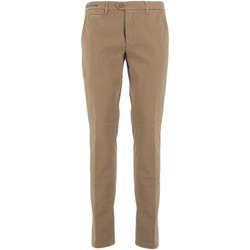 textil Hombre pantalones chinos Teleria Zed MADE IN ITALY GR barro