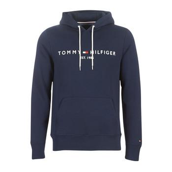 textil Hombre Sudaderas Tommy Hilfiger TOMMY LOGO HOODY Marino