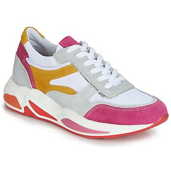 Zapatos Mujer Zapatillas bajas André ROLLO Blanco / Rosa