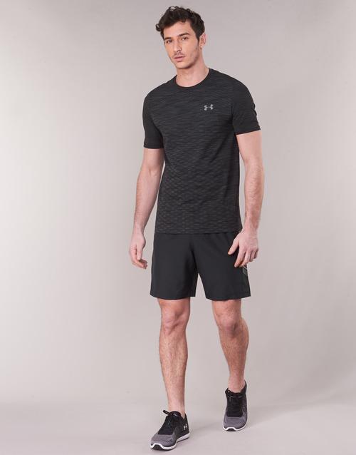 Woven Negro Short Hombre Armour Graphic Textil Under ShortsBermudas Yv76fybg
