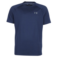textil Hombre camisetas manga corta Under Armour TECH 2.0 SS TEE Marino