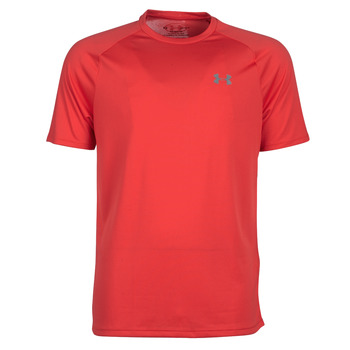 textil Hombre camisetas manga corta Under Armour TECH 2.0 SS TEE Rojo