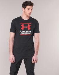 textil Hombre Camisetas manga corta Under Armour GL FOUNDATION SS Negro