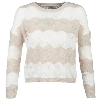textil Mujer jerséis Only ONLKARO Beige / Crudo