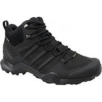 Zapatos Hombre Senderismo adidas Originals Terrex Swift R2 Mid GTX negro