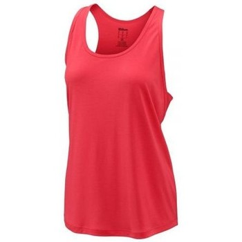 textil Mujer camisetas sin mangas Wilson CAMISETA  CONDITION TANK CORAL MUJER CORAL