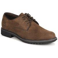 Zapatos Hombre Derbie Timberland EK STORMBUCK PLAIN TOE OXFORD Marrón