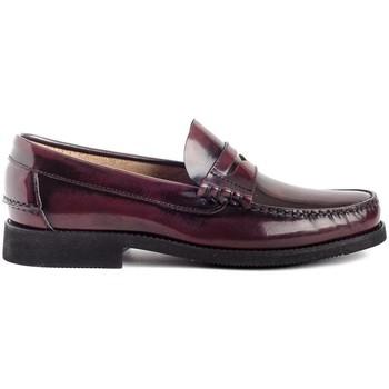 Zapatos Hombre Mocasín Colour Feet OXFORD Rojo