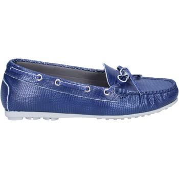 Zapatos Mujer Mocasín K852 & Son mocasines azul cuero BT933 azul