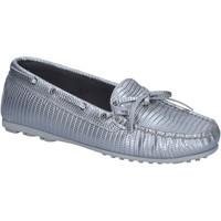 Zapatos Mujer Mocasín K852 & Son mocasines plata cuero BT934 plata