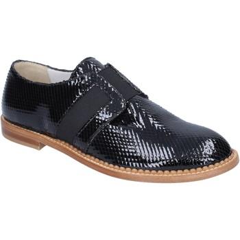 Zapatos Mujer Mocasín Arnold Churgin elegantes negro charol BT955 negro