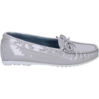 Zapatos Mujer Mocasín K852 & Son mocasines gris charol BT967 gris