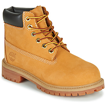 Zapatos Niño Botas de caña baja Timberland 6 IN PREMIUM WP BOOT Beige
