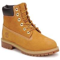 Zapatos Niño Botas de caña baja Timberland 6 IN PREMIUM WP BOOT Cognac