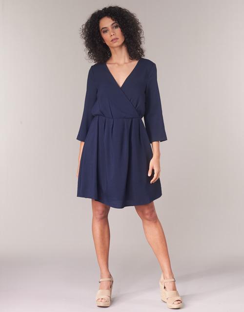 Virossie Marino Vestidos Textil Mujer Vila Cortos 4jq3L5AR