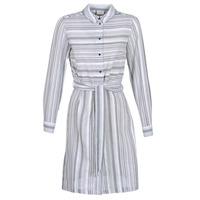 textil Mujer vestidos cortos Vila VINAVIDA Blanco / Azul