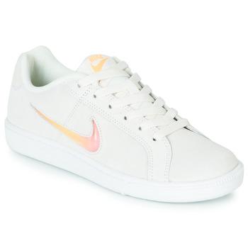 Zapatos Mujer Zapatillas bajas Nike COURT ROYALE PREMIUM W Blanco / Naranja