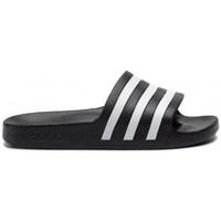 Zapatos Zuecos (Mules) adidas Originals Adilette Aqua Negros