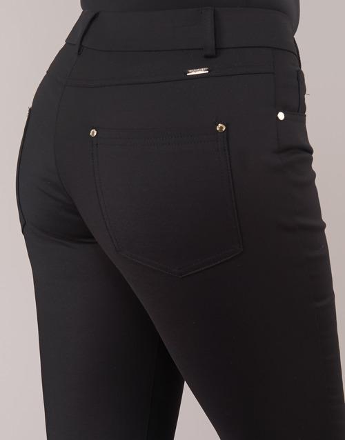 Pantalones Giotto Textil 5 Negro Mujer Con Bolsillos Marciano shQrCxtd