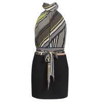 textil Mujer vestidos cortos Marciano SEEING STRIPES Negro / Multiple