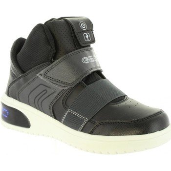 Zapatos Niños Botas de caña baja Geox J847QA 05411 J XLED Negro