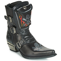 Zapatos Hombre Botas urbanas New Rock M-WST024-S3 Negro