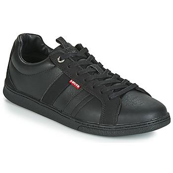 Zapatos Hombre Zapatillas bajas Levi's TULARE Negro