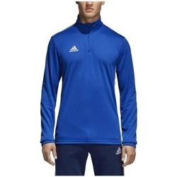 textil Hombre Camisetas manga larga adidas Originals Core 18 Training Top Azul