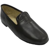 Zapatos Hombre Pantuflas Deisidro Zapatilla hombre piel muy cómoda marrón