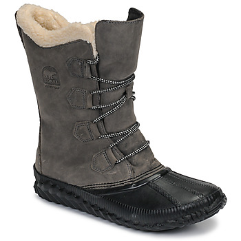 Zapatos Mujer Botas de nieve Sorel OUT N ABOUT PLUS TALL Gris