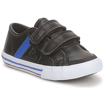 Zapatos Niño Zapatillas bajas Le Coq Sportif SAINT MALO Negro / Azul