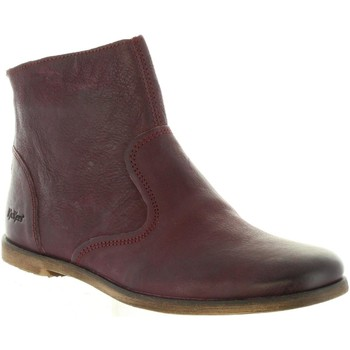 Zapatos Niña Botines Kickers 281317-30 ROXANNA Rojo