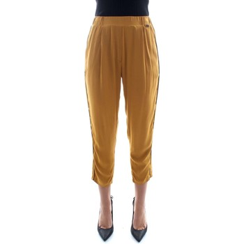 textil Mujer Pantalones fluidos Bsb 140-212008 Amarillo