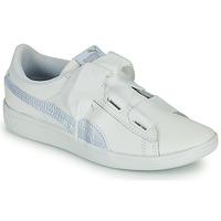 Zapatos Niños Zapatillas bajas Puma VIKKY RIB PS BL Blanco