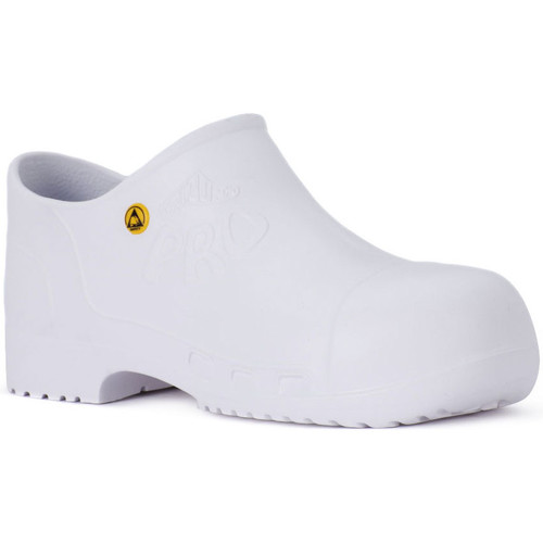 Calzuro PRO SAFETY BIANCO Bianco - Zapatos Zuecos (Clogs)