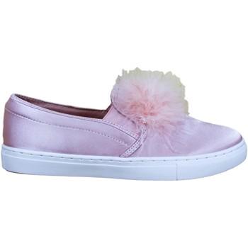 Zapatos Mujer Slip on Buonarotti 1JB-18237 Rosa