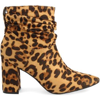 Zapatos Mujer Botines Buonarotti 1JB-18436 Camel