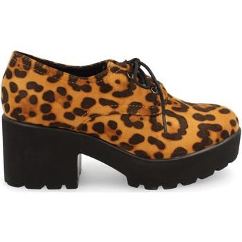 Zapatos Mujer Derbie Buonarotti 1JB-18517 Camel