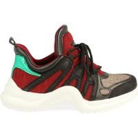 Zapatos Mujer Zapatillas bajas S&b AD-982 Rojo