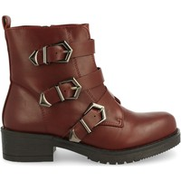 Zapatos Mujer Botas de caña baja Laik TY-895 Burdeos