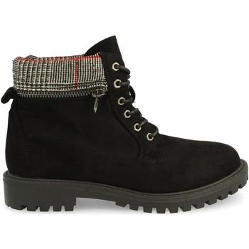 Zapatos Mujer Botas de caña baja Laik Y-5586 Negro