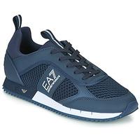 Zapatos Hombre Zapatillas bajas Emporio Armani EA7 BLACK&WHITE LACES U Azul