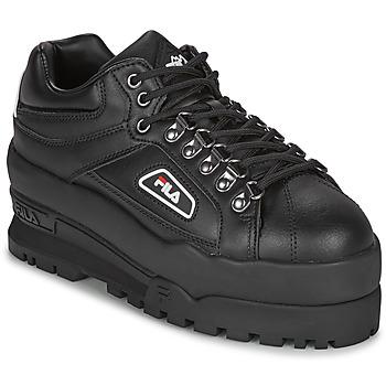 Zapatos Mujer Zapatillas bajas Fila TRAILBLAZER WEDGE WMN Negro