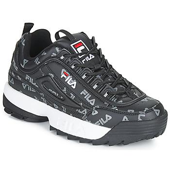 Zapatos Mujer Zapatillas bajas Fila DISRUPTOR LOGO LOW WMN Negro