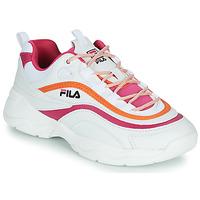 Zapatos Mujer Zapatillas bajas Fila RAY CB LOW WMN Blanco / Rosa / Naranja