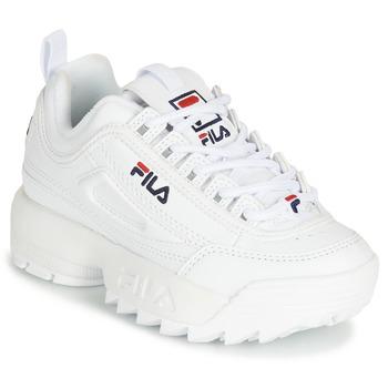 Zapatos Niños Zapatillas bajas Fila DISRUPTOR KIDS Blanco