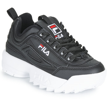 Zapatos Niños Zapatillas bajas Fila DISRUPTOR KIDS Negro