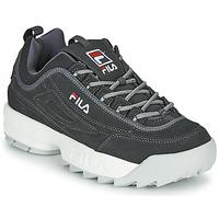 Zapatos Hombre Zapatillas bajas Fila DISRUPTOR LOW Gris