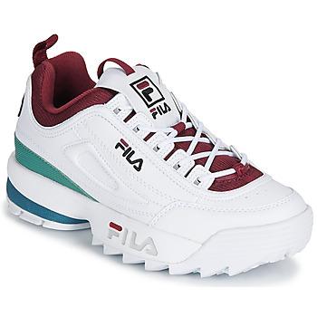 Zapatos Mujer Zapatillas bajas Fila DISRUPTOR  CB LOW WMN Blanco