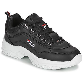 Zapatos Mujer Zapatillas bajas Fila STRADA LOW WMN Negro